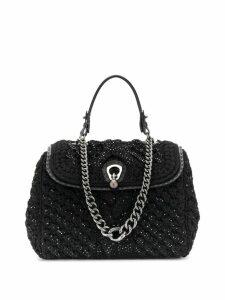 Ermanno Scervino crystal embellished tote bag - Black