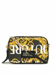 Versace Jeans Couture baroque print crossbody bag - Black