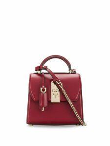 Salvatore Ferragamo Boxyz top handle bag - Red