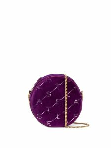 Stella McCartney quilted logo bag - Purple
