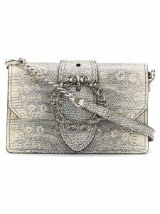 Miu Miu embellished envelope shoulder bag - Grey