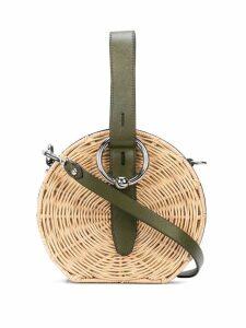 Rebecca Minkoff buckled mini bag - Green