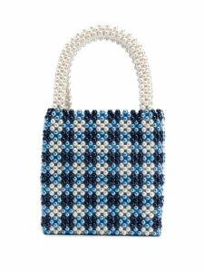 Shrimps small Willow tote bag - Blue