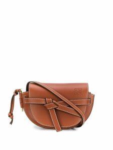 Loewe mini Gate shoulder bag - Brown