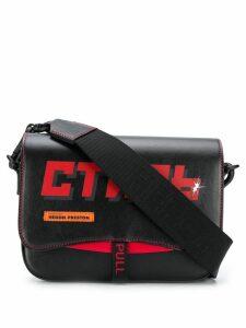 Heron Preston printed 'CTNMb' shoulder bag - Black