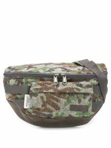 Eastpak camouflage-print sling bag - Grey