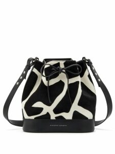 Giuseppe Zanotti Selly bucket bag - Black