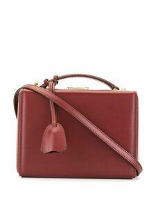 Mark Cross small Grace box bag - Red