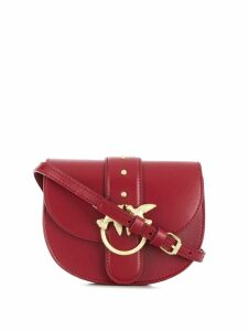 Pinko swallow buckle belt bag - Red