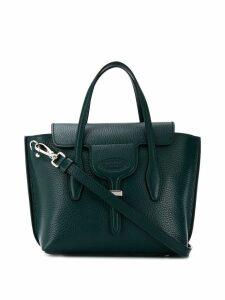 Tod's pebbled tote bag - Green