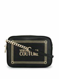 Versace Jeans Couture logo crossbody bag - Black