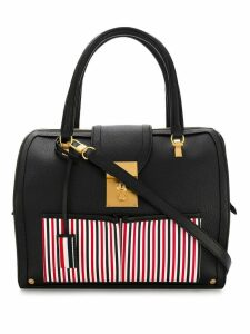 Thom Browne Inside Out Deerskin Mrs. Thom Bag - Black