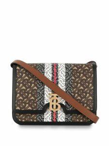 Burberry Monogram Stripe shoulder bag - Brown