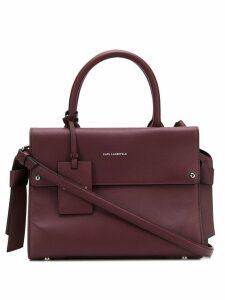 Karl Lagerfeld K/Ikon Mini Top Handle bag - Red