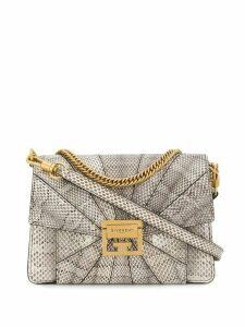 Givenchy ayers snakeskin shoulder bag - Neutrals