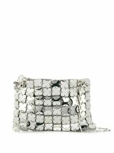 Paco Rabanne square chainmail shoulder bag - Silver