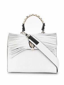 Ermanno Scervino fringed foldover tote bag - White