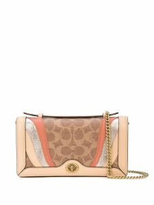 Coach Wave Patchwork shoulder bag - Brown