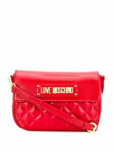 Love Moschino quilted cross body bag - Red