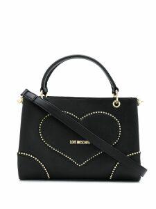 Love Moschino studded tote bag - Black