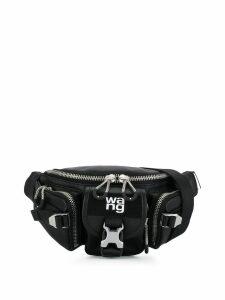 Alexander Wang buckle belt bag - Black