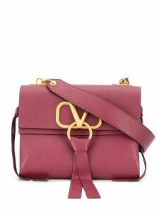 Valentino V-ring shoulder bag - Red