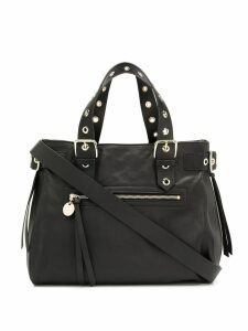 Red Valentino RED(V) eyelet handle tote - Black