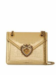 Dolce & Gabbana Devotion crossbody bag - Gold