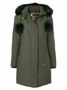 Moose Knuckles hooded padded coat - Green