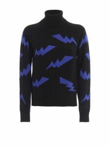Parosh Lightning Turtleneck Sweater