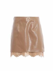 Pinko Balsamo 3 Patent Skirt