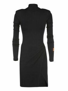 HERON PRESTON Round Neck Jersey Dress