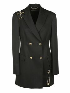 Versace Safety Pin Double-breasted Blazer