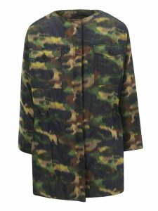 Rochas Camouflage Coat
