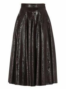 MSGM Animalier Skirt