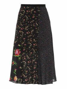 McQ Alexander McQueen Patchwork Skirt