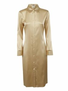 Bottega Veneta Light Satin Stretch Dress