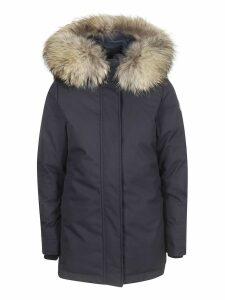 Pyrenex Hooded Fur Coat
