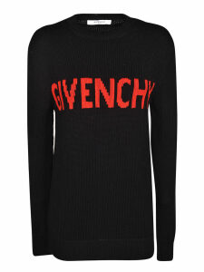 Givenchy Knitted Logo Pullover