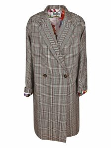 Stella McCartney Prince Of Whales Checked Coat