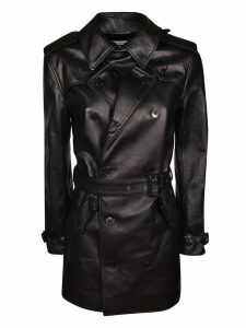 Saint Laurent Mid-length Belted Coat