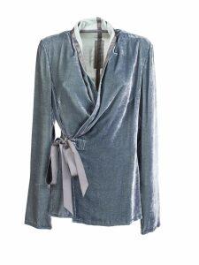 Rick Owens Velvet Kimono Top