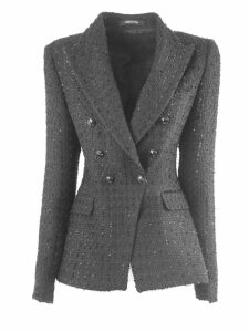 Tagliatore Cotton Blend Jalicya Classic Double-breasted Blazer