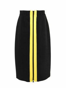 N.21 Black Fabric Skirt