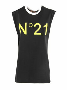 N.21 Black Cotton T-shirt