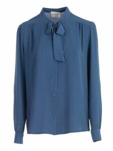 Be Blumarine Shirt L/s Round Neck W/knot