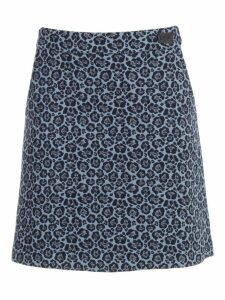 Be Blumarine Skirt A Line Short Jacquard