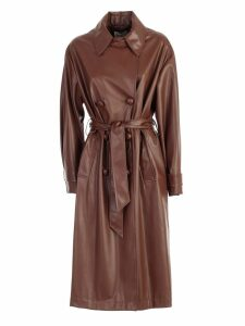 Be Blumarine Trench Eco Leather