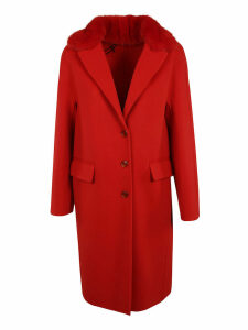 Ermanno Scervino Single Breasted Coat