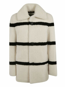 Saint Laurent Striped Coat